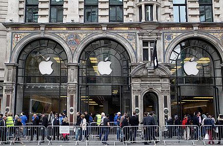 השקה השקת אייפון 5s 5c אפל iphone, צילום: אימג'בנק, Gettyimages