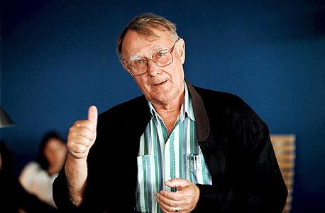 אינגבר קמפרד מייסד איקאה Ingvar Kamprad , צילום: פטר נופ