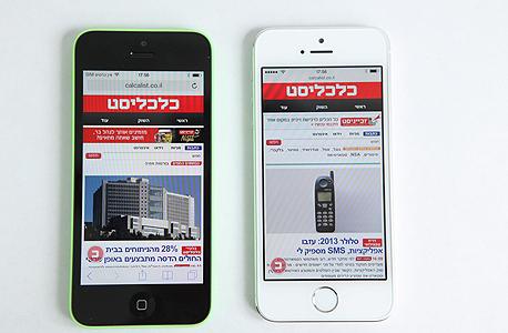 אייפון 5S אפל סמארטפונים, צילום: עמית שעל