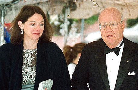 פורסט מארס יחד עם גרושתו דבורה