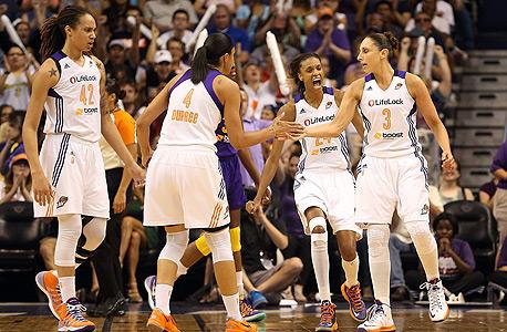 שחקניות WNBA. ב-NBA הבינו את הפוטנציאל