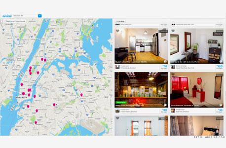 מתוך אתר Airbnb. משכירי החדרים יכולים לדרג את הלקוחות