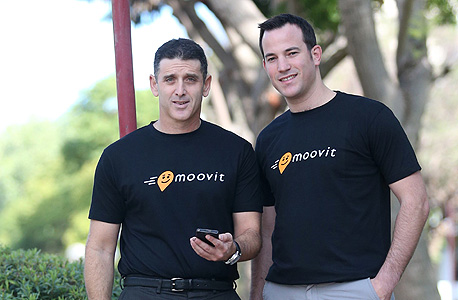 מימין: ניר ארז ורועי ביק, מייסדי מוביט