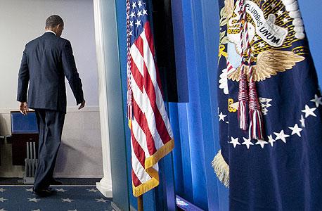 הנשיא ברק אובמה הבית הלבן, צילום: איי אף פי