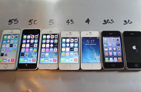 גדלים עם הזמן. מכשירי אייפון