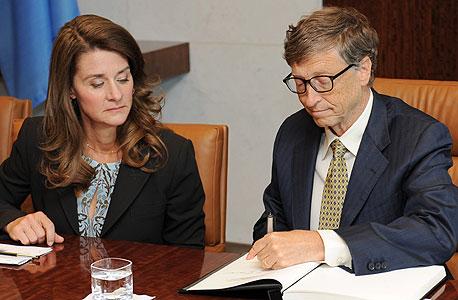 Philanthropists Bill and Melinda Gates. Photo: EPA