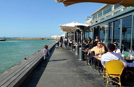 נמל תל אביב לא בזמן הקורונה (ארכיון)