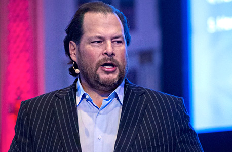 Salesforce founder and CEO Marc Benioff. Photo: Bloomberg