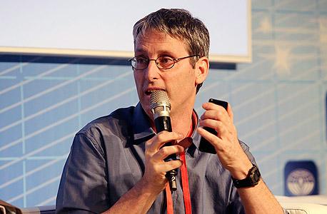 PointGrab co-founder Haim Perski. Photo: Nimrod Glickman