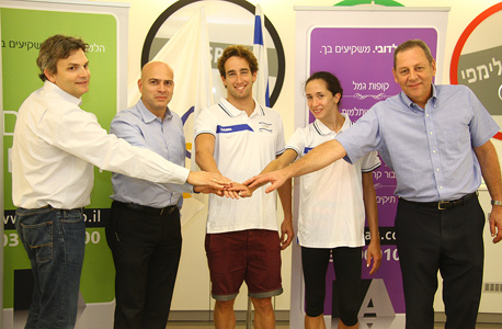 הוועד האולימפי בישראל חתם על הסכם חסות עם בית ההשקעות הלמן-אלדובי