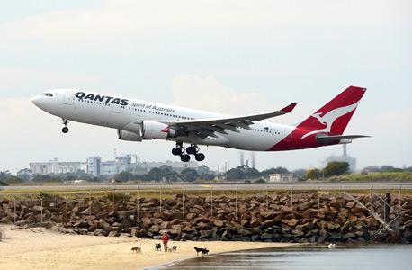 מטוס של החברה האוסטרלית קוואנטס, צילום: בלומברג