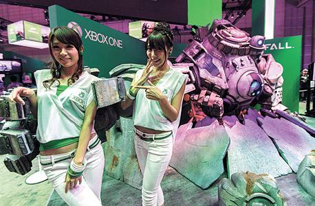 דוכן ה-XBOX One בתערוכה בטוקיו, צילום: אי פי איי
