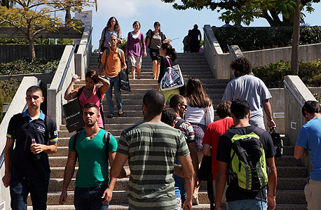 """סטודנטים באוניברסיטת ת""""א. מודל הסיוע בישראל אינו ברור"""