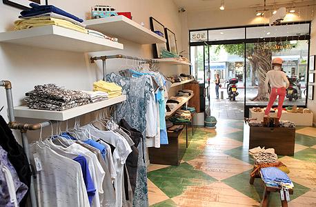חנות בגדים בתל אביב, צילום: עמית שעל