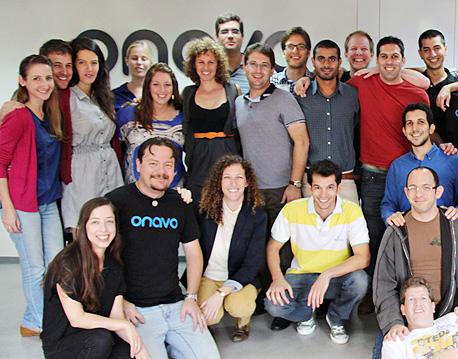 עובדי אונאבו, החברה שהפכה בסיס לפייסבוק בישראל, צילום: עומר לכיש