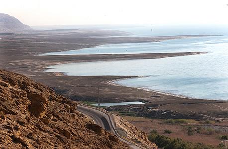 צפון ים המלח. האזור בשליטת ישראל מאז הסכמי אוסלו
