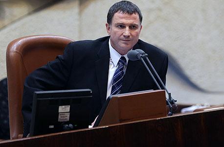 """יולי אדלשטיין יו""""ר הכנסת, צילום: אלכס קולומויסקי"""