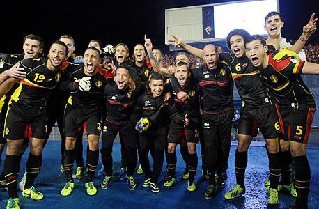 נבחרת בלגיה. הכל התחיל עם עבודה נכונה של ההתאחדות לכדורגל, צילום: איי אף פי