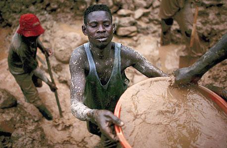 כריית זהב בקונגו