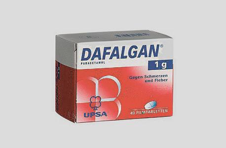 משכך הכאבים דאפאלגאן הצרפתי. מכיל אצטמינופן