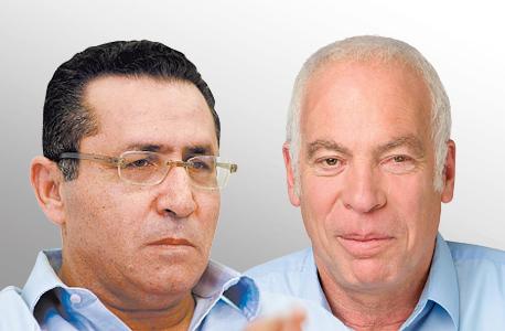מימין אורי אריאל ו עופר עיני, צילום: עדי אורני, עמית שעל
