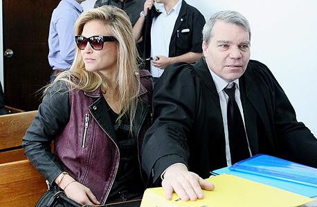 בר רפאלי עם עורך דין יוסי מילר, צילום: עמית שעל