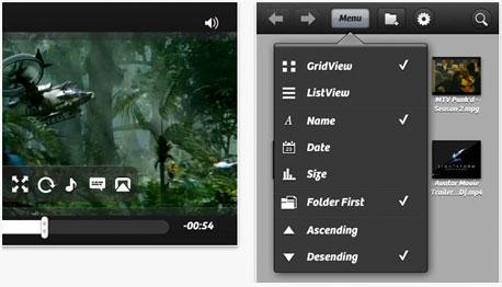 PlayerXtreme HD, צילומי מסך: itunes appstore ו-google play