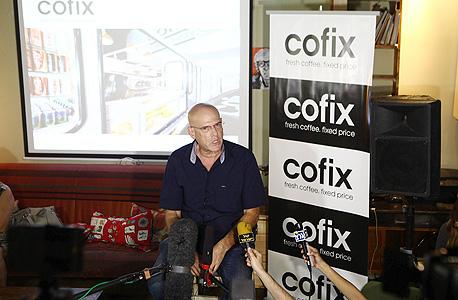 גיל אונגר מבעלי רשת קופיקס, צילום: אוראל כהן