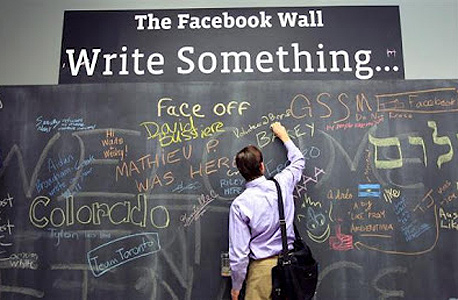 מטה פייסבוק קיר