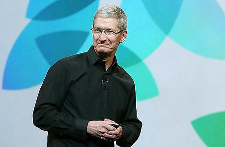טים קוק מנכל אפל אייפד חמישי אירוע, צילום: איי אף פי