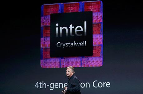 אפל אירוע אייפד חמישי אינטל פיל שילר crystalwell קריסטלוול, צילום: רויטרס