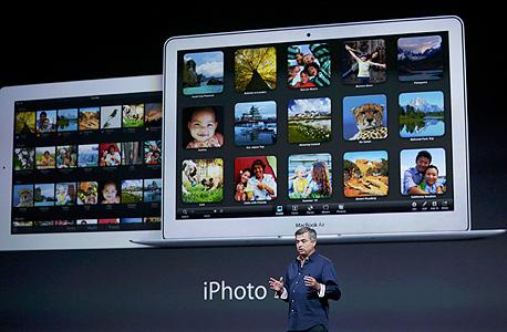 אייפוטו iphoto אפל אירוע אייפד חמישי, צילום: רויטרס
