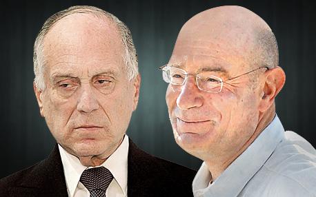 מימין ארנון מילצ'ן ו רון לאודר, צילום: עמית שעל, גיל נחושתן