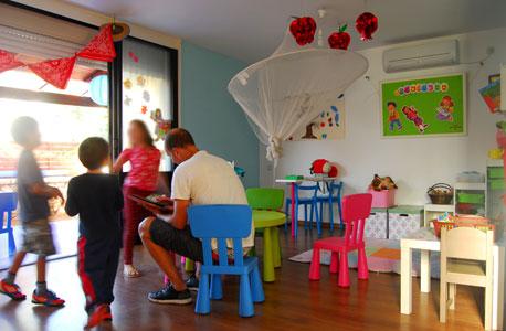 """גן ילדים בת""""א (ארכיון), צילום: מנשה שילון"""