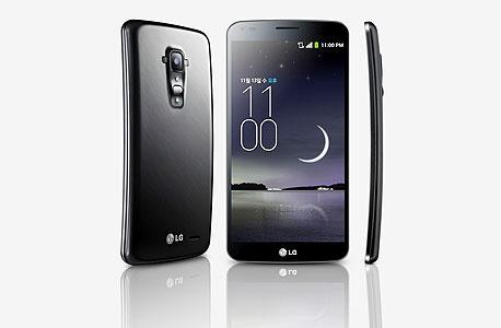 LG G Flex פלקס טלפון חכם קעור גמיש מעוגל