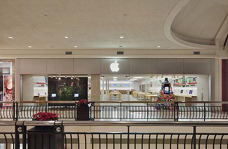 """חנות אפל מקלין וירג'יניה ארה""""C  קניון טייסונס קורנר החנות הראשונה 2001"""