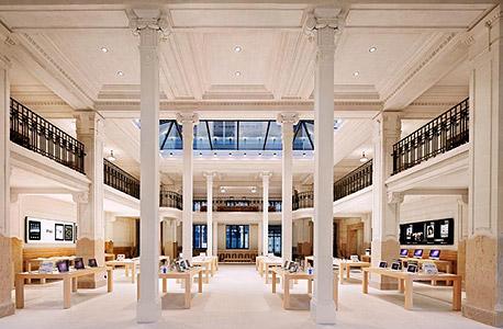 חנות אפל פריז כיכר האופרה
