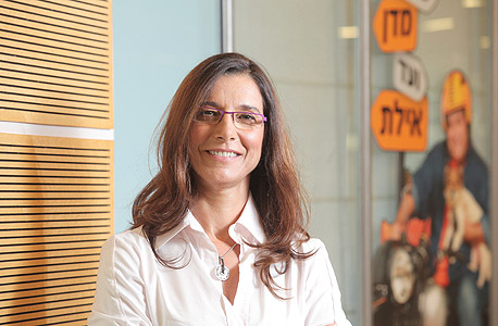 דינה זוארץ נבות סמנכלית השיווק של בנק מזרחי טפחות , צילום: אוראל כהן