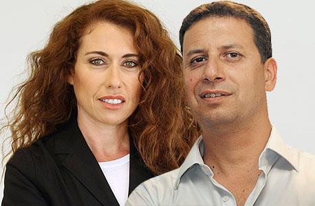 רון איילון ו סטלה הנדלר, צילום: בועז אופנהיים, צביקה טישלר