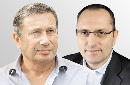 מימין מוטי בן משה ו נוחי דנקנר, צילום: אניה בוכמן, אוראל כהן