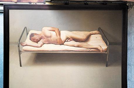 """""""ואלרי"""" של ישראל הרשברג. ציור שנשאר בידי דרוק ולא נכנס למכירה בגלל העירום, ועוד של גבר לא נימול"""