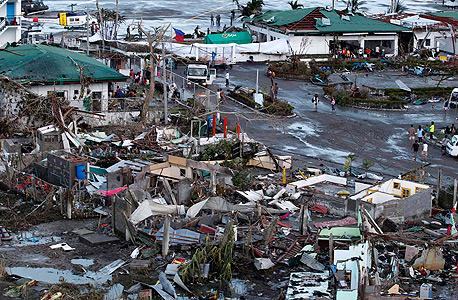 נזקי הסופה בפיליפינים