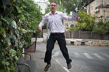 שלמה פרוינד, בעל סטארט-אפ נודל, צילום: טלי מאייר