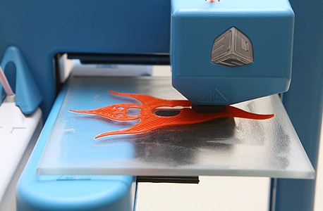 מדפסת תלת ממד ביתית, צילום: אוראל כהן