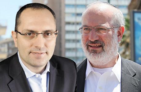 מימין אדוארדו אלשטיין ו מוטי בן משה, צילום: אוראל כהן, אניה בוכמן