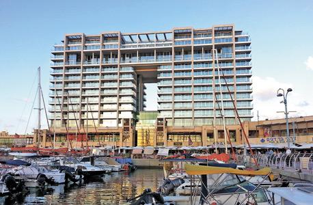 מלון ריץ במרינה בהרצליה. המלון השני ייבנה בשדרות רוטשילד בתל אביב