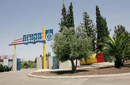 כניסה למרכז המבקרים של מקורות, צילום: משה שי