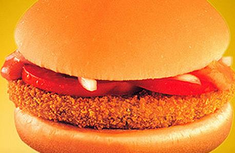 מקדונלדס דברים שאין במקדונלדס בישראל הודו המבורגר תפוח אדמה מטוגן