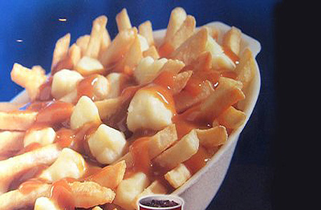 מקדונלדס דברים שאין במקדונלדס בישראל קנדה צ'יפס עם רוטב וגבינה