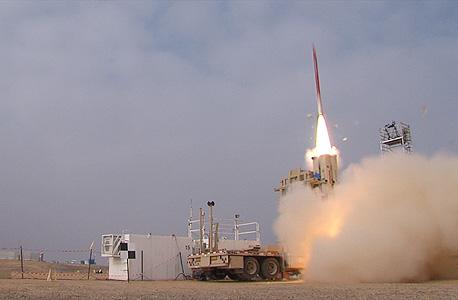 טיל שרביט קסמים רפאל ריית'און Raytheon, צילום: משרד הביטחון